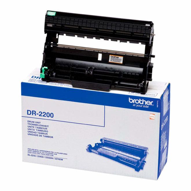 Brother DR-2200, bubanj jedinica, Black, cca 12.000 ispisa, Original [DR2200]