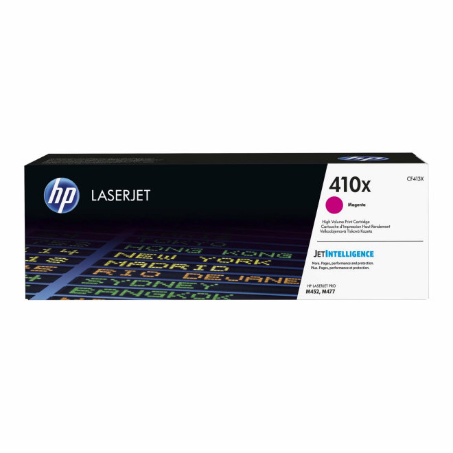 HP 410X High Yield Magenta LaserJet Toner Cartridge, kazeta, cca 5.000 ispisa, Original [CF413X]