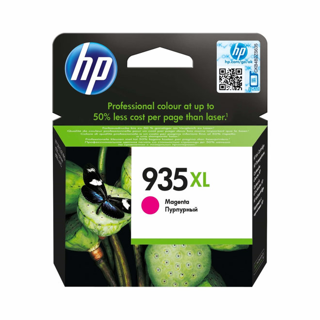 HP 935XL High Yield Magenta Ink Cartridge, cca 825 ispisa, Original [C2P25AE]