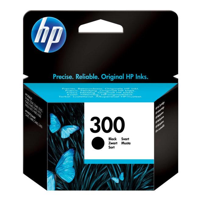 HP 300 Black Original Ink Cartridge [CC640EE#UUS]