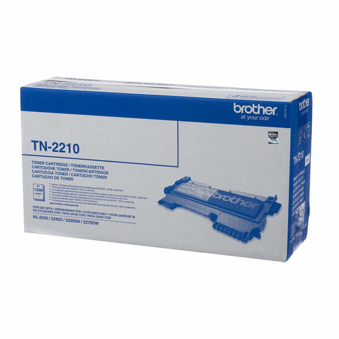 Brother toner TN-2210, Black, cca 1.200 stranica, Original [TN2210]