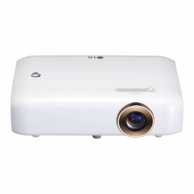 LG PH550G, LED projektor, DLP, HD, HDMI, USB, 550 lm, ugrađena baterija, Bijela, 650 g [PH550G]