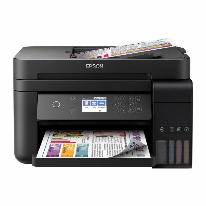 Epson EcoTank L6170, višefunkcijski pisač, tintni ispis u boji, 4 boje, A4 format, WiFi, USB, Ethernet, dupleks, ADF, LCD zaslon [C11CG20402]